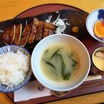 桜一 - 豚ロース味噌漬焼定食  1000円