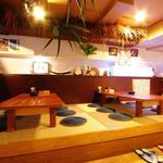 みやら - 琉球畳のお座敷は子供連れのお客様に大人気
