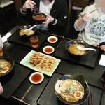 34085201 - 黒坊&餃子&ソースかつ丼S&チャーシュー丼S