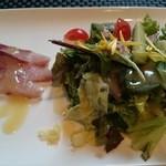 ignis - ランチのサラダ