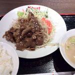 ながさき - スタミナ牛カルビ定食