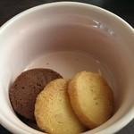 ウメカフェ - サービスのクッキー☆
