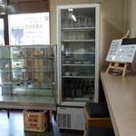 木の芽食堂 - 2013年5月 おかずケースもあります(´∀`)