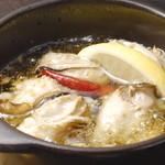 牡蠣のアヒージョ(バケット付)