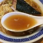 34094275 - 中華そば(魚介系)スープアップ(2015年1月)