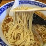 34094322 - 中華そば(魚介系) 麺アップ(2015年1月)