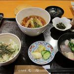日本料理 旬坊 - 蟹ご飯膳