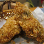 日本料理 旬坊 - 牡蠣フライ