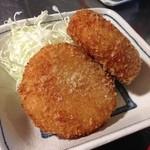 えり瀬 - 土俵定食(コロッケ)
