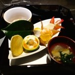 アトリエ森本ゼックス - 豪華な食べ比べコース(14500円)・前菜 前菜盛り合わせ