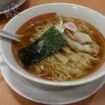 34096262 - 「極旨醤油ラーメン ミックスランチ」 756円 + 麺大盛り 108円