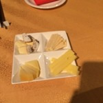 LA I・TA・ME・SHI - チーズ盛り合わせ