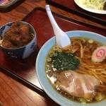 太田食堂 - ラーメン、ミニソースかつ丼セット