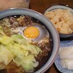 吉田屋 - 肉月見
