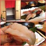 蛇の目鮨 -  ✨Today's Lunch✨1200yen              私のオーダーした上寿司定食は、寿司8貫(牡丹海老✨帆立✨イクラ✨鱈炙り✨鰤✨鮪✨サーモン✨鰆)✨赤だし✨根菜煮✨サラダ              牡丹海老の大きさ凄かったよん(⑅˃◡˂⑅)