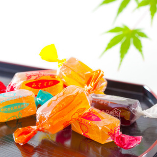 みすゞ飴本舗 飯島商店 - 料理写真:100年の歴史のある銘菓「みすゞ飴」。香料、合成着色料などを一切使用していない、国産果実そのものの味です。