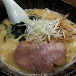 魚らん坂 - 特製味噌ラーメン2015.1.8