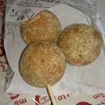 34102456 - 西京味噌と豆腐のお団子ドーナツ