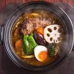 ばぐばぐ - 料理写真:ハンバーグカリー