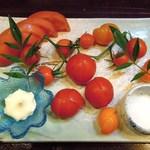 アジト - トマトの?種盛