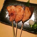 とり元 千乃夢 - ブリ照り焼き串焼き