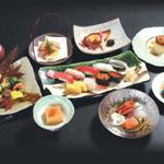 すしざんまい - 寿司懐石 7,500円(税別)