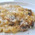 Micasadeco&Cafe - キノコとゴルゴンゾーラの玄米リゾット