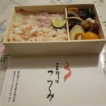 34108341 - 鯛とずわい蟹のご馳走弁当(2700円)