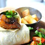 Micasadeco&Cafe - 豚の角煮のラップサンド