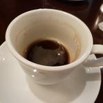 ハージーズ - コーヒー(飲みかけですみません)