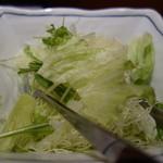 34112507 - サラダ キャベツたっぷり