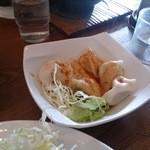 担々麺 錦城 - 水餃子