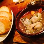 バルーマ - 牡蠣のアヒィージョ