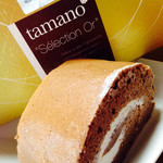 タマノ - 料理写真:チョコロールケーキ