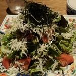 文治 - しらすのサラダ