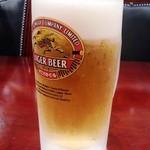 34116771 - 生ビールはキリン。スーパーツライでなくて良かった