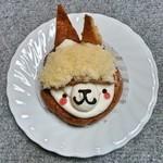 もりもと - 料理写真:アルパカちゃん 300円 2015/01 シュークリームです