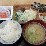 ヒライ - 朝定食 納豆