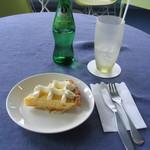 Cafe DEN - 2007/6 さっぱりとした甘さのレモンパイと『エルダーフラワー』