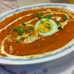 インド料理 ドルーガ - Aセット\800 日替わりカレー(キーマエッグ)