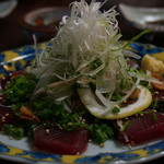 浜善 - 地物カツオタタキ 800円