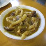 インディアン・レストラン ロタ - そっと出してくれた、バングラ料理。