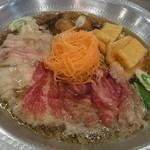 夢の湯 - 牛豚鍋