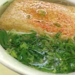 蒜山高原サービスエリア(下り線)レストラン - ¥550のきつねそばを頂きました。