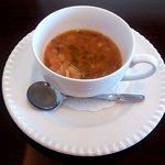 ロザート - 三島野菜と自家製パンのスープ(2015.1)