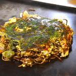 お好み焼き 木下 - 料理写真:台付きそば 豚玉