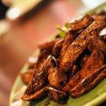 居酒屋KOK - 砂肝とポテトのバルサミコス