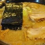 麺山 - とんこつ正油味玉ラーメン