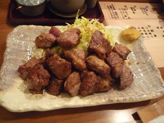 炉ばた 万年青 神楽坂店 - 味付け肉