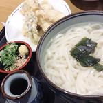 WEST - 「湯だめ たら天盛りセット」(730円)。